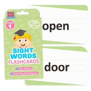 Sight Words Flashcards, First Grade